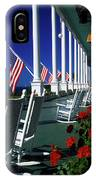 Porch Of The Grand Hotel, Mackinac IPhone X Case