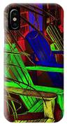 Neon Porch Perches IPhone Case