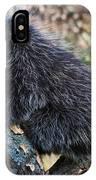 Porcupine Sleeping IPhone Case