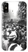 Porfirio Diaz Celebrating Republican President Benito Juarez July 1910 April 25 1911   IPhone Case
