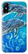 Porpoise Pair IPhone Case