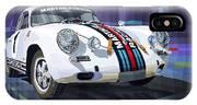 Porsche 356 Martini Racing IPhone X Case