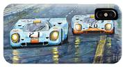 Porsche 917 K Gulf Spa Francorchamps 1971 IPhone Case