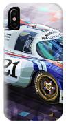 Porsche 917 Lh Larrousse Elford 24 Le Mans 1971 IPhone Case