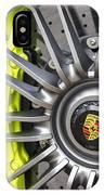 Porsche 918 Wheel IPhone Case