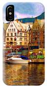 Port Life Watercolor IPhone Case