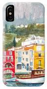 Port Of Capri IPhone Case