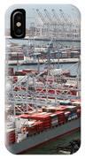 Port Of Long Beach IPhone Case