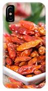 Portion Of Dried Chillies IPhone Case
