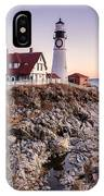 Portland Head Lighthouse Cape Elizabeth Maine IPhone Case