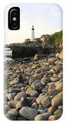 Portland Light House 2 IPhone Case