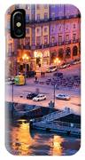 Porto Old Town In Portugal At Dusk IPhone Case