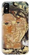 Portrait De Picasso IPhone Case