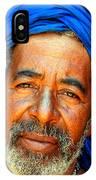 Portrait Of A Berber Man  IPhone Case