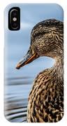 Portrait Of A Duck IPhone Case