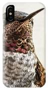 Portrait Of A Hummer IPhone Case