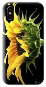Portrait Of A Sunflower IPhone X Case