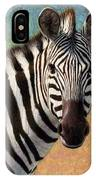 Portrait Of A Zebra - Square IPhone Case