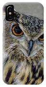 Portrait Of An Owl IPhone Case
