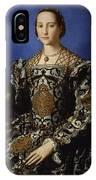 Portrait Of Eleanor Of Toledo With Her Son Giovanni De' Medici IPhone Case