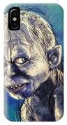 Portrait Of Gollum IPhone Case