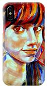 Portrait Of Ivana IPhone Case