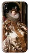 Portrait Of Maria Serra Pallavicino IPhone Case
