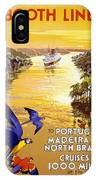 Portugal Vintage Travel Poster IPhone Case