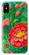 Posie In Red IPhone Case