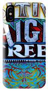 Positively Haight Street IPhone Case