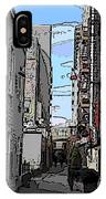 Post Alley 6 IPhone Case
