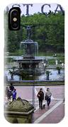 Postcard From Central Park IPhone Case