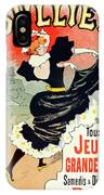 Poster For Le Bal Bullier. Meunier, Georges 1869-1942 IPhone X Case