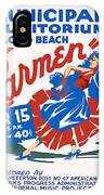 Poster For Production Of Carmen IPhone Case