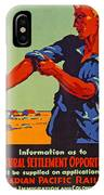 Poster Promoting Emigration To Canada IPhone Case
