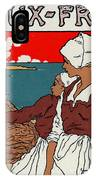 Poster Sardines, 1899 IPhone X Case
