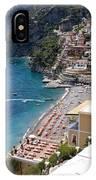 Postitano Beach IPhone Case