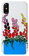 Potted Blooms - Blue IPhone Case