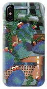 Pottery And Cactus IPhone Case by John Wyckoff