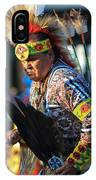 Pow Wow 14 IPhone Case