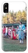 Pow Wow 3 IPhone Case