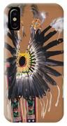 Pow Wow Regalia - Orange IPhone Case