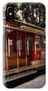 Powell And Market Cable Car IPhone Case