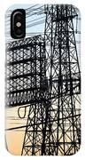 Power Tower Lines IPhone Case