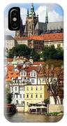 Prague Skyline IPhone Case