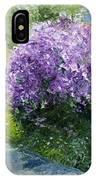 Prague Spring Loreta Lilacs IPhone Case