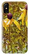 Prairie Coneflowers In Pipestone National Monument-minnesota  IPhone Case