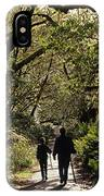 Prairie Creek Redwood State Park With Sun Breaking Through Trees IPhone Case