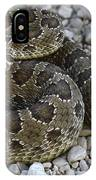 Prairie Rattlesnake South Dakota Badlands IPhone Case