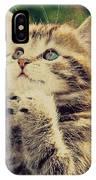 Praying Cat IPhone Case